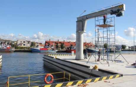 W Łebie zakończono prace nad budową stoczni!