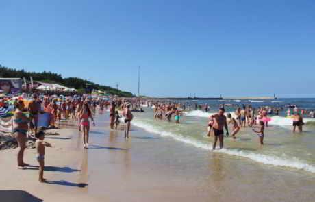 Łeba najpopularniejszą miejscowością plażową w Polsce!