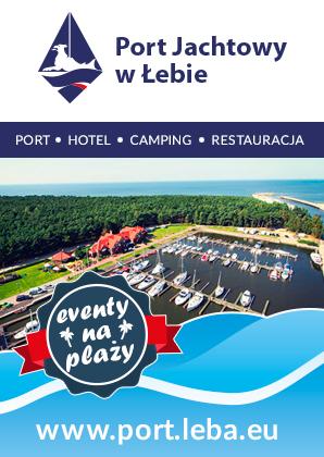 Baner - Port Jachtowy w Łebie