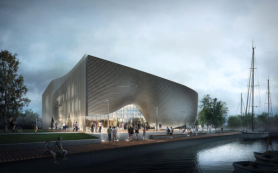 Muzeum Archeologii Podwodnej w Łebie – zwycięski projekt