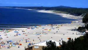 Port morski – radar – plaża A i B