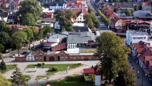 Panorama Łeby