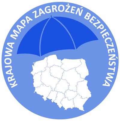 Logo - krajowa mapa zagrożeń bezpieczeństwa