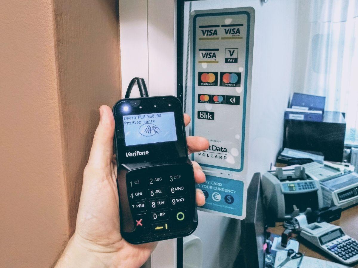 Terminal płatniczy (pinpad)