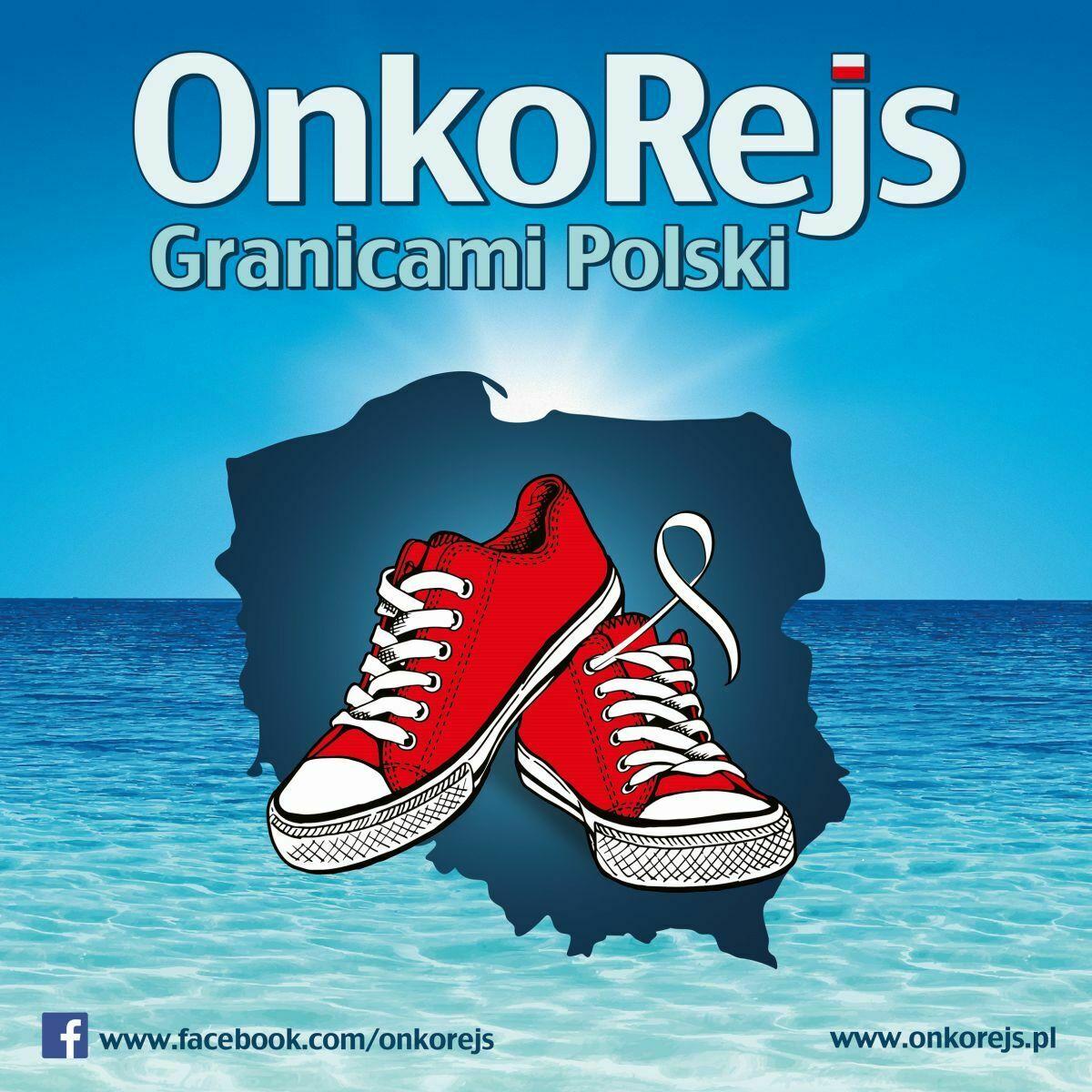 Plakat - OnkoRejs Granicami Polski