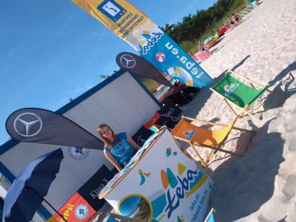 CIT na plaży