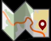 Ikona - mapa