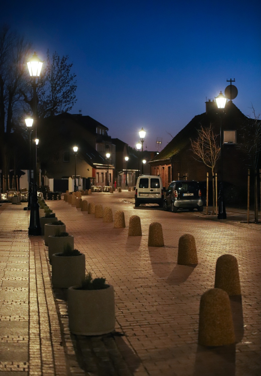 Ulica Kościuszki w nocy